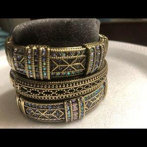 Jewelry - Gold Bangles (3) BRAND NEW